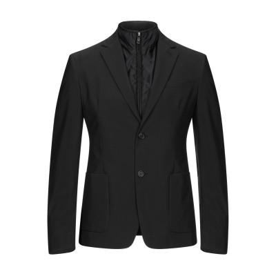 PRADA LINEA ROSSA テーラードジャケット ブラック 46 ポリエステル 71% / ナイロン 29% / ナイロン / ポリウレタン