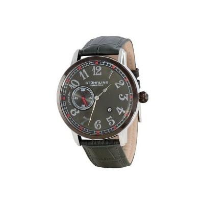 海外セレクション 腕時計 Stuhrling 229A 332V5N54 メンズ クラシック Legacy オートマチック アナログ Date グレー 腕時計