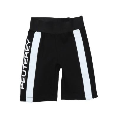 ピューテリー PEUTEREY パンツ ブラック 6 レーヨン 65% / ナイロン 30% / ポリウレタン 5% パンツ