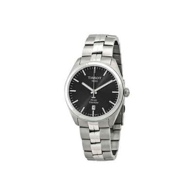 腕時計 ティソット メンズ Tissot PR 100 Anthracite Dial Two-tone Men's Watch T101.410.44.061.00