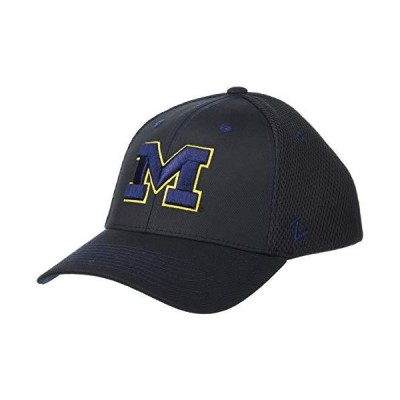 NCAA Michigan Wolverines Mens Oakland Stretch Fit Hat, Black, Small