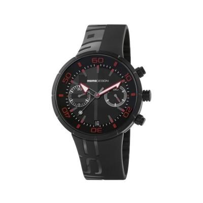 おしゃれ 個性的 高品質 腕時計 メンズ モモデザイン Momo Design Sport 2398BK-21 43mm Chronograph