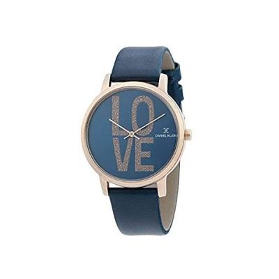 【新品】Daniel Klein Womens Wrist Watch (DK12339-6) - Leather Strap - 38mm Analog W