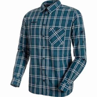 マムート シャツ Belluno Longsleeve Shirt Jay / Marine