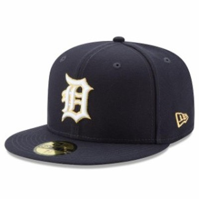 New Era ニュー エラ スポーツ用品  New Era Detroit Tigers Navy Gold City 59FIFTY Fitted Hat