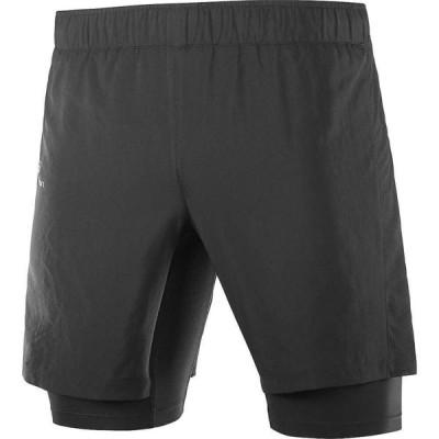 サロモン Salomon メンズ ランニング・ウォーキング ショートパンツ ボトムス・パンツ XA Twinskin Shorts Black