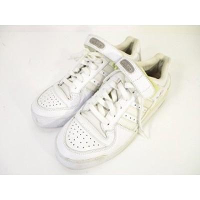 【中古】アディダスオリジナルス adidas originals スニーカー ベルクロ レースアップ レザー 白 ホワイト 25 ZX