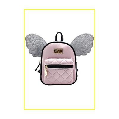 (新品)  Betsey Johnson Heavenly Pixie Mini Backpack in Pink/Glitter