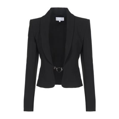 パトリツィア ペペ PATRIZIA PEPE テーラードジャケット ブラック 40 ポリエステル 88% / ポリウレタン 12% テーラードジャ
