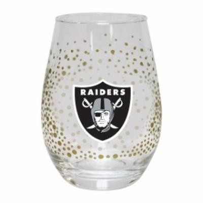 The Memory Company ザ メモリー カンパニー スポーツ用品  Oakland Raiders Glitter Stemless Tumbler