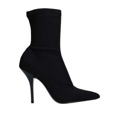 カルバン クライン CALVIN KLEIN ショートブーツ ブラック 36 紡績繊維 / ポリウレタン® ショートブーツ