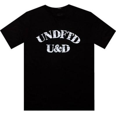 アンディフィーテッド Undefeated メンズ Tシャツ トップス U And D Tee black