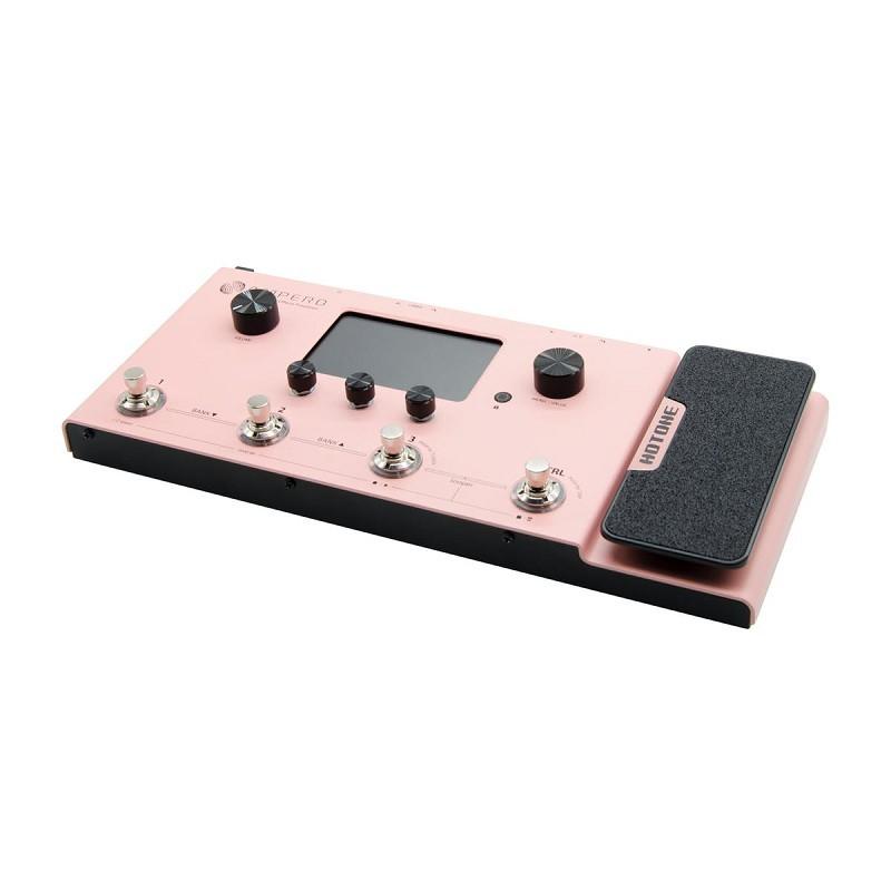 [分期免運] hotone ampero 粉紅限定版 電吉他 地板型 音箱模擬 綜合效果器/錄音介面
