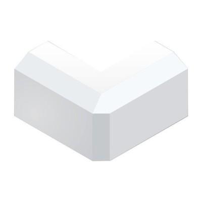 マサル工業 SFMD02 ニュー・エフモール 付属品 0号 デズミ ホワイト