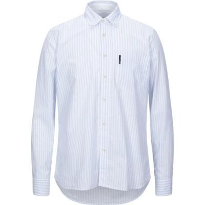 ノースセール NORTH SAILS メンズ シャツ トップス striped shirt Sky blue