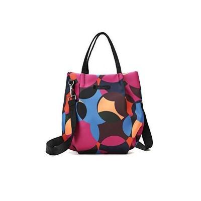 Women's Lightweight Casual Crossbody Bag, Printed Waterproof Oxford Handbag