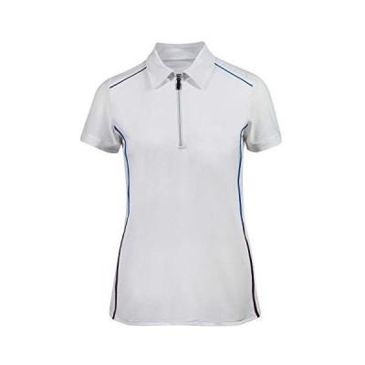B VertigoキャシーLadies UV Ice Fit半袖BVX Sun Shirt in Bold Colors 4 ホワイト