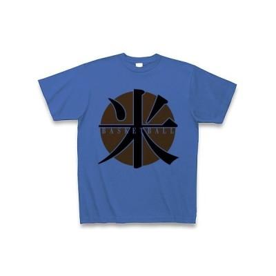 米(コメ)バスケットボール Tシャツ(ミディアムブルー)