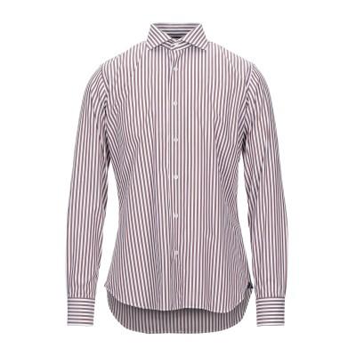 ALEA シャツ ダークブラウン 44 コットン 100% シャツ