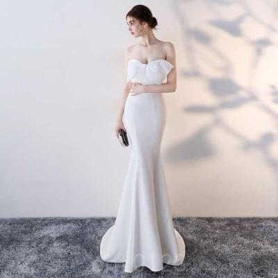 パーティードレスイブニングドレス可愛い安いフマーメイドキャバナイトクラブチューブトップ