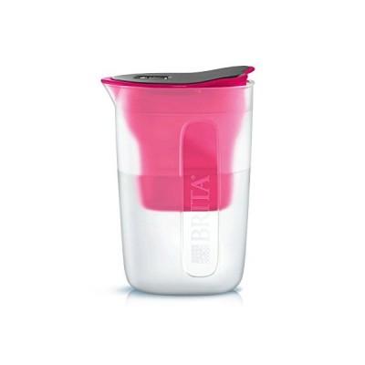 ブリタ 浄水 ポット 1.0L ファン ピンク ポット型 浄水器 カートリッジ 1個付き 日本仕様・日本正規品