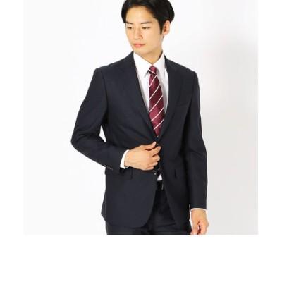 〈セットアップ〉ブライトステッチ ストライプ スーツジャケット