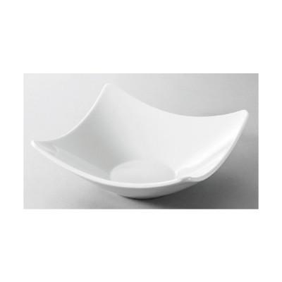 ☆ 洋食器 ☆ Arctic white21cmシャープエッジスクエアボール [ 207 x 75mm ] 【レストラン ホテル 飲食店 洋食器 業務用 】