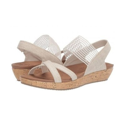 SKECHERS スケッチャーズ レディース 女性用 シューズ 靴 サンダル Brie - Dawdle - Natural