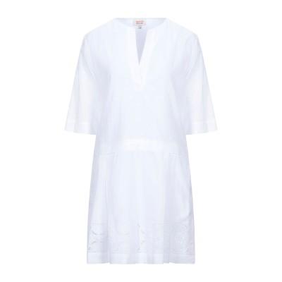 PAUL & JOE SISTER ミニワンピース&ドレス ホワイト 34 コットン 100% ミニワンピース&ドレス