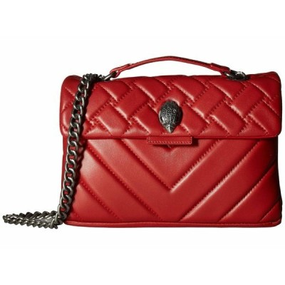 カートジェイガーロンドン ハンドバッグ バッグ レディース Leather Kensington Crossbody Red