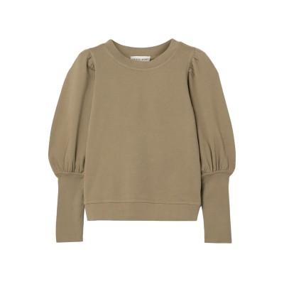 APIECE APART スウェットシャツ ミリタリーグリーン XL コットン 100% スウェットシャツ
