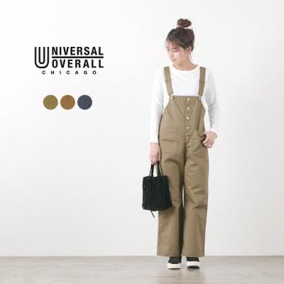 UNIVERSAL OVERALL(ユニバーサルオーバーオール)16×12 TC ツイル ベーシック オーバーオール / レディース / サロペット