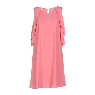 ジャッカ JUCCA ミニワンピース&ドレス ピンク 44 レーヨン 95% / ポリウレタン 5% ミニワンピース&ドレス