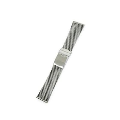 CASSIS[カシス] メッシュ 時計ベルト Mesh Mirror メッシュミラー 24mm シルバー 交換用工具付き V99464H4024M