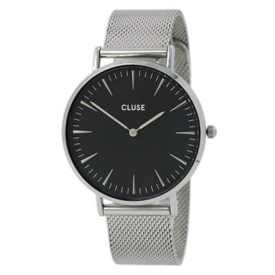 腕時計 クルース Cluse La Boheme Women's Stainless Steel Mesh Bracelet Quartz Watch