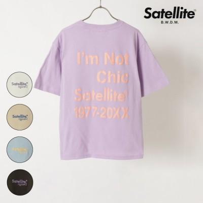 Satellite サテライト 半袖Tシャツ 114 レディース 半袖 Tシャツ IX2 C30