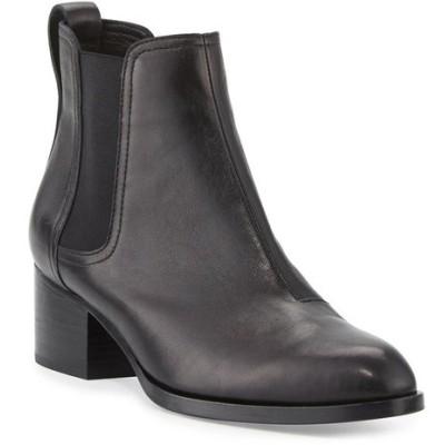 ラグアンドボーン レディース ブーツ・レインブーツ シューズ Walker Leather Chelsea Boots, Black