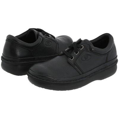 プロペット オックスフォード メンズ Village Walker Medicare/HCPCS Code = A5500 Diabetic Shoe Black Grain