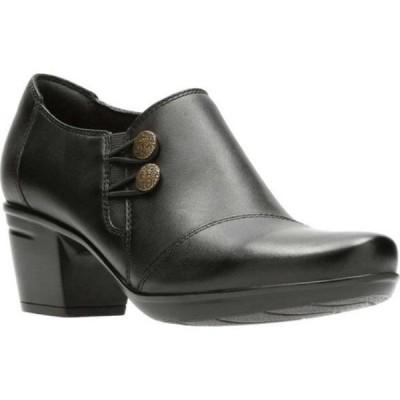 クラークス Clarks レディース ブーツ シューズ・靴 Emslie Warren Bootie Black Full Grain Leather
