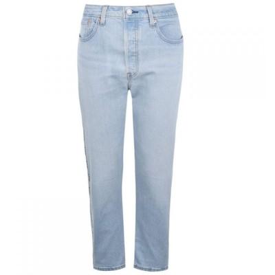 リーバイス Levis レディース ジーンズ・デニム ボトムス・パンツ 501 Tape Crop Jeans Dibs W/Tape