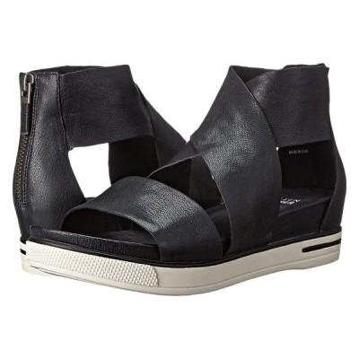 エイリーンフィッシャー サンダル シューズ レディース Sport Black Tumbled Leather