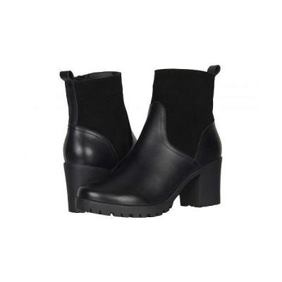 Soludos ソルドス レディース 女性用 シューズ 靴 ブーツ アンクルブーツ ショート Dani Shearling Platform Boot - Black