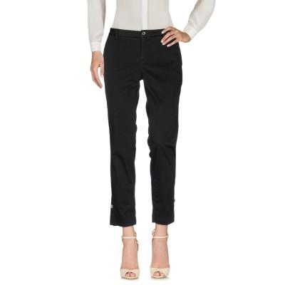 リュー ジョー LIU •JO パンツ ブラック 24 コットン 96% / ポリウレタン 4% パンツ