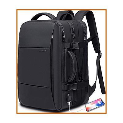 送料無料 35L Travel Backpack,Flight Approved Carry On Backpack for International Travel Bag, Water Resistant Durable 17-inch Laptop Back