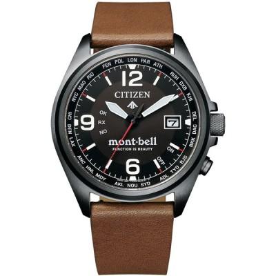 腕時計 シチズン プロマスター CB0177-31E mont-bellコラボ限定モデル エコドライブ 電波時計 替えベルト付き メンズ 正規品