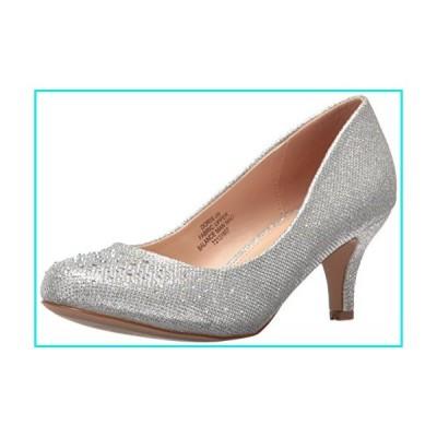 Pleaser Women's Doris06/sgfa Slide Pump, SLV Glitter Mesh Fabric, 9 M US【並行輸入品】