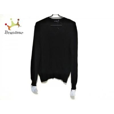 ニジュウサンク 23区 長袖セーター サイズ40 M レディース - 黒×白   スペシャル特価 20210108