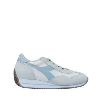 DIADORA HERITAGE スニーカー&テニスシューズ(ローカット) グレー 6.5 紡績繊維 / 革 スニーカー&テニスシューズ(ローカット)
