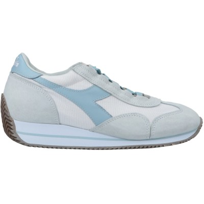 DIADORA HERITAGE スニーカー&テニスシューズ(ローカット) グレー 3 紡績繊維 / 革 スニーカー&テニスシューズ(ローカット)