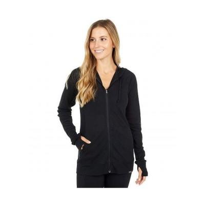 ExOfficio エクスオフィシオ レディース 女性用 ファッション パーカー スウェット BugsAway(R) Lumen Full Zip Hoodie - Black